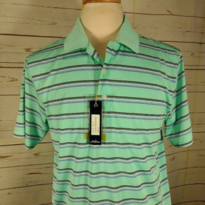 Jack Nicklaus Mens Golden Bear Green Polo Shirt M